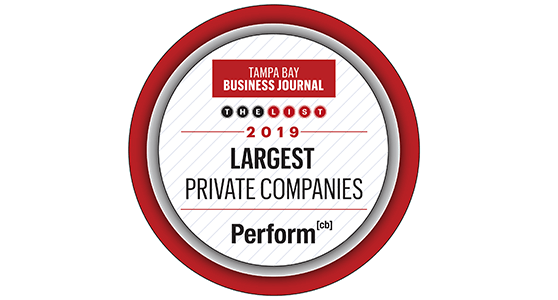 2019 Largest Private Companies - Perform