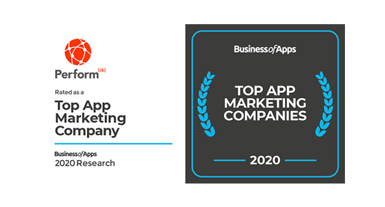 Ranked as a Top Mobile Ad Network of 2019